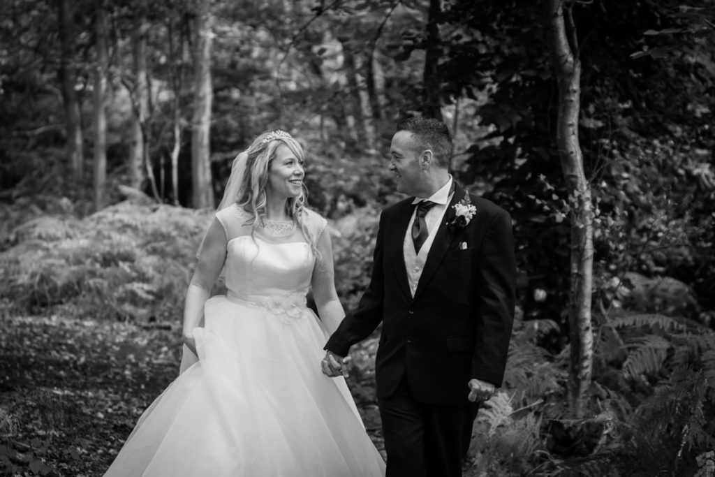 wedding photography hilton hotel cobham