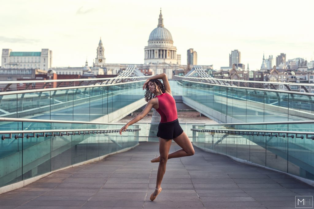 london dance photoshoot