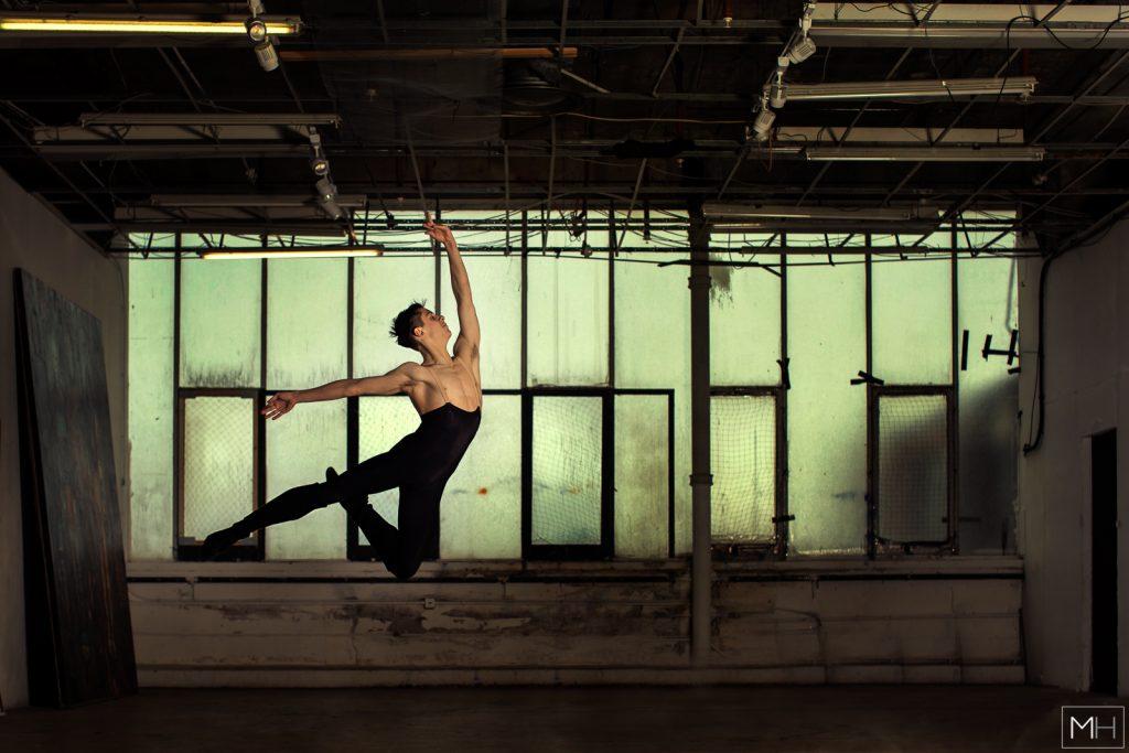 male ballet dancer london