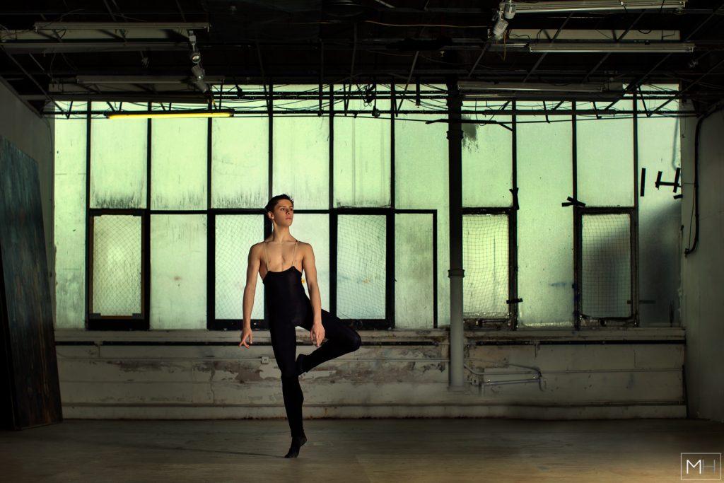 male classical ballet dancer