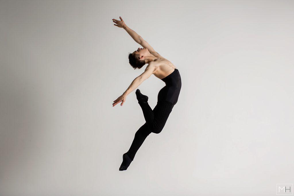 male ballet jump