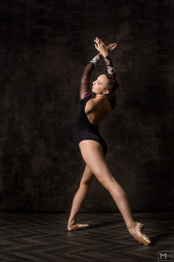 studio ballet photography