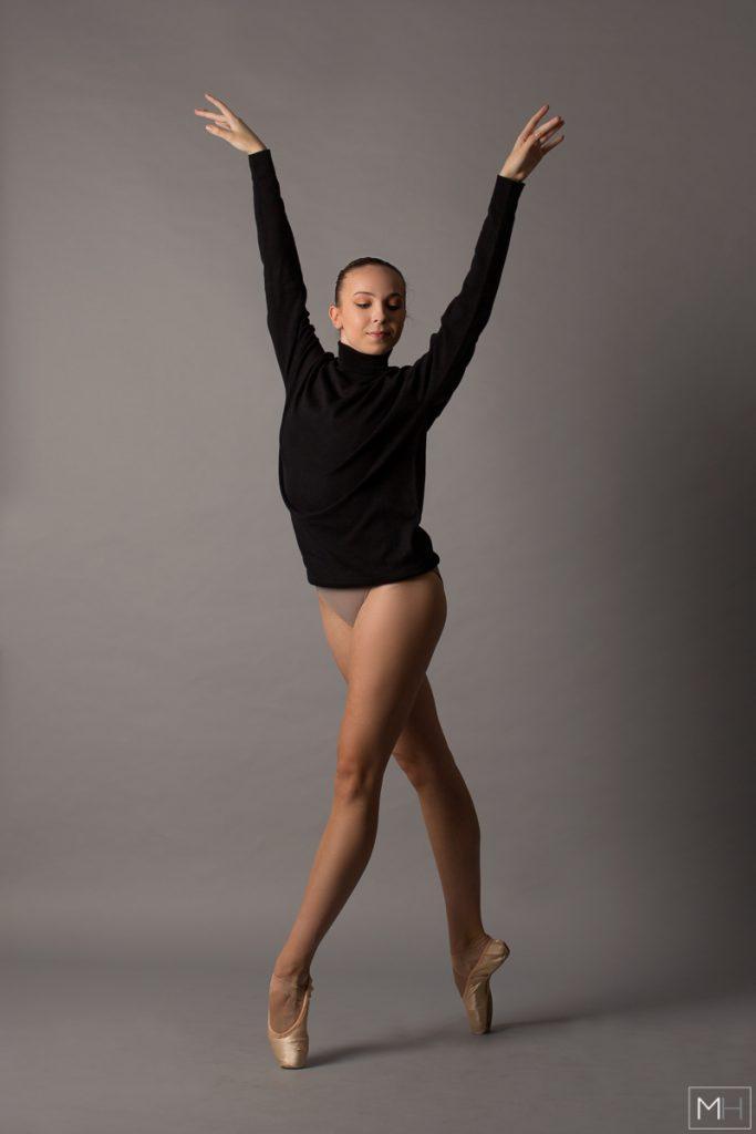 studio dance photoshoot
